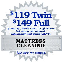 Northern VA DC MD Mattress cleaning coupon1